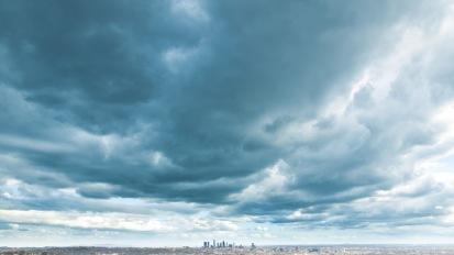Dark Clouds AboveLA