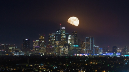 SuperMoon Los Angeles
